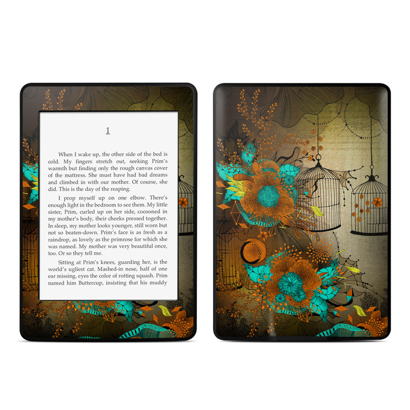 Rusty Lace Amazon Kindle Paperwhite Skin