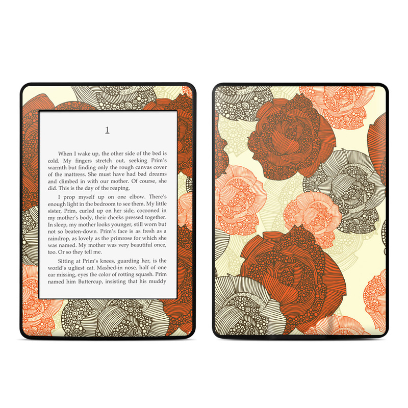 Roses Amazon Kindle Paperwhite Skin
