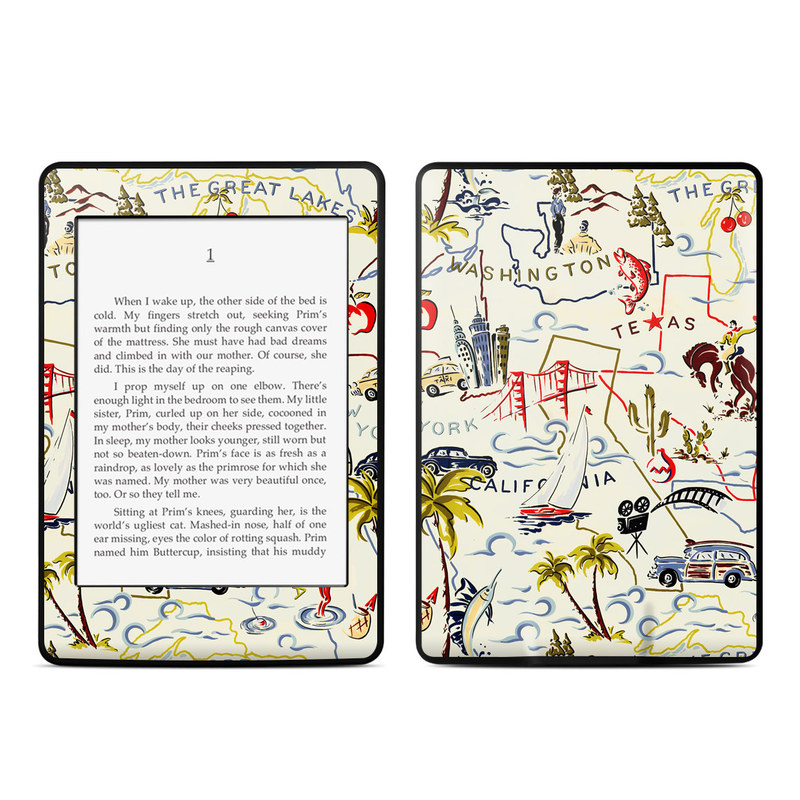 Road Trip Amazon Kindle Paperwhite Skin