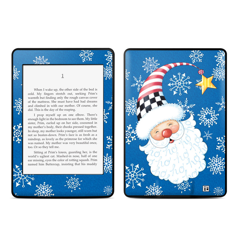 Santa Snowflake Amazon Kindle Paperwhite Skin