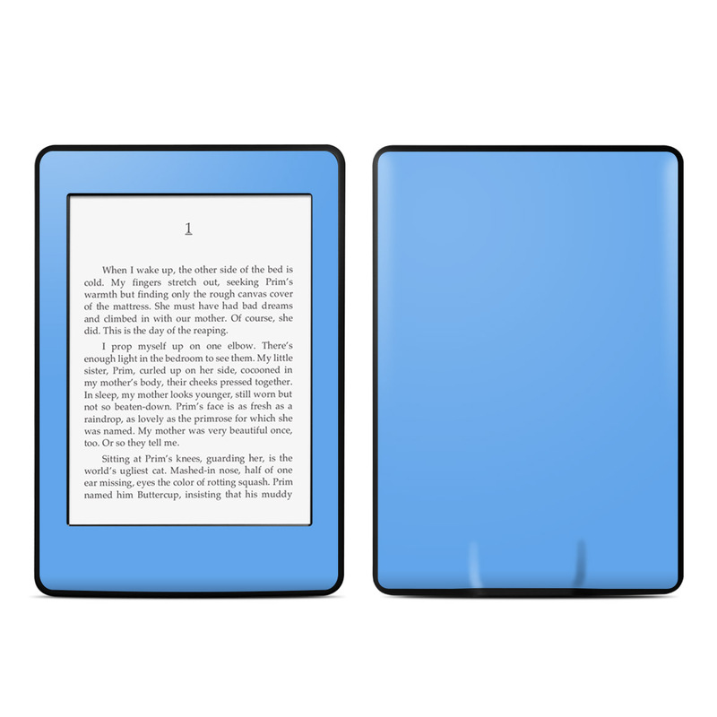 Solid State Blue Amazon Kindle Paperwhite Skin