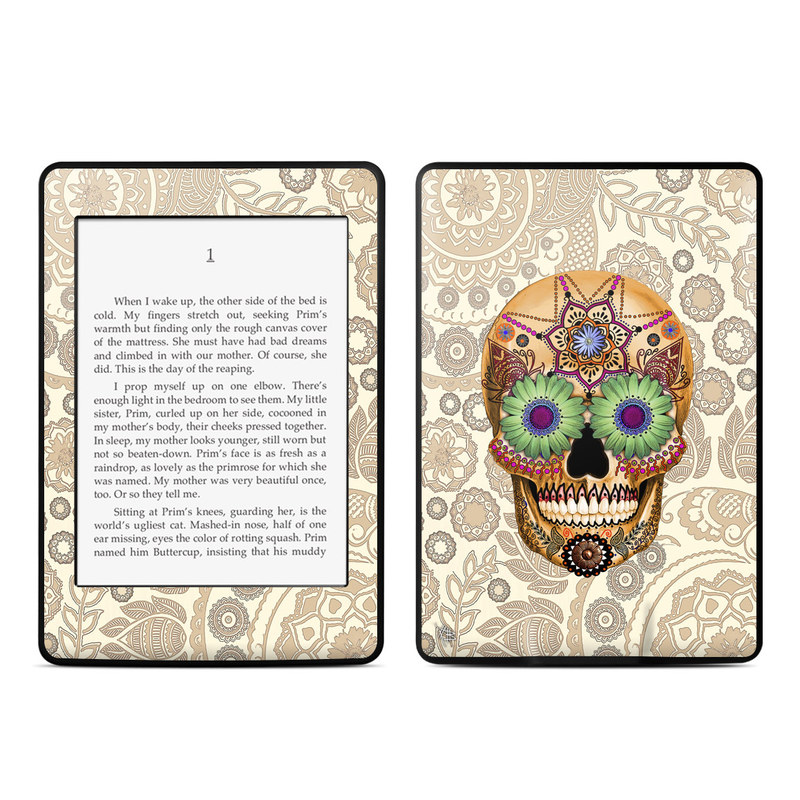 Sugar Skull Bone Amazon Kindle Paperwhite Skin