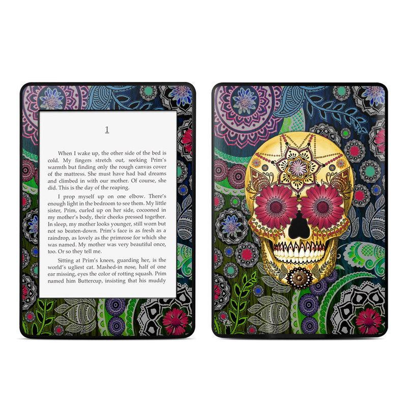 Sugar Skull Paisley Amazon Kindle Paperwhite 3rd Gen Skin