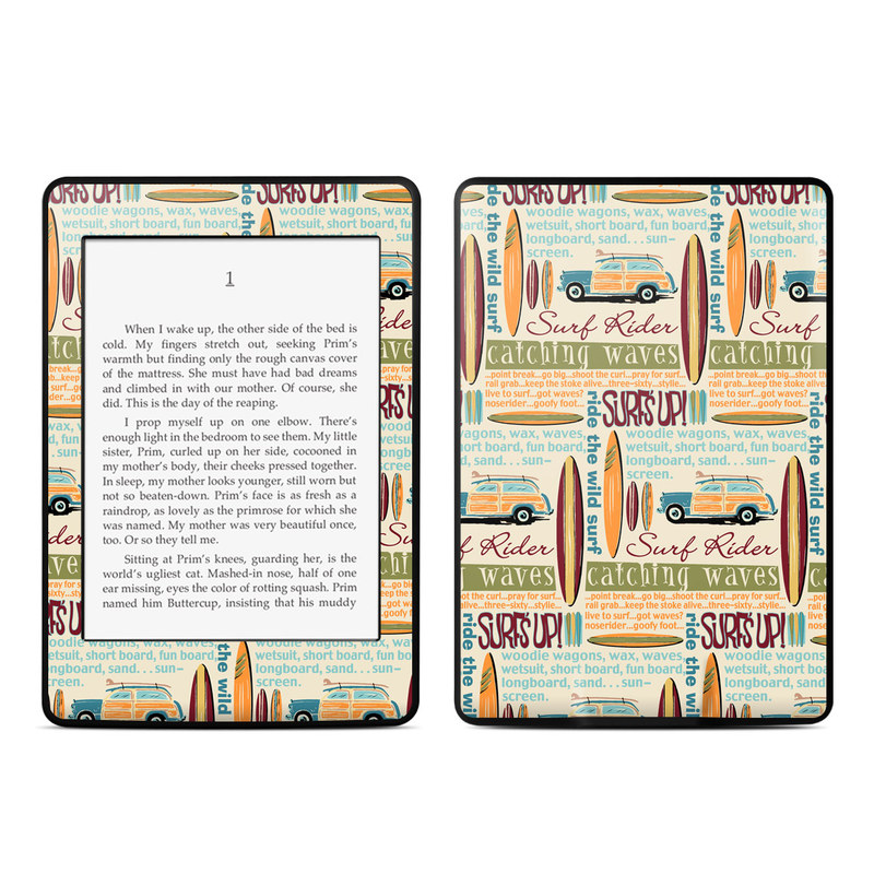 Surf Words Amazon Kindle Paperwhite Skin