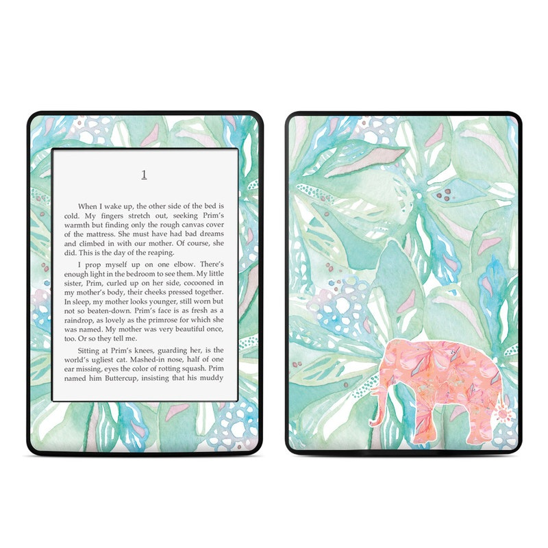 Tropical Elephant Amazon Kindle Paperwhite Skin