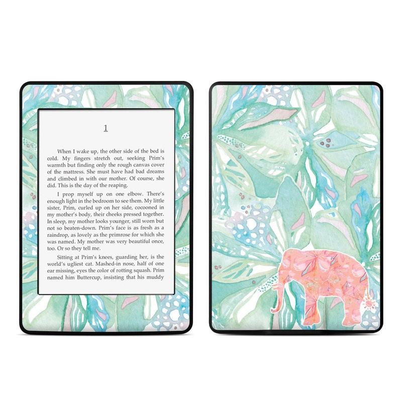 Tropical Elephant Amazon Kindle Paperwhite Skin