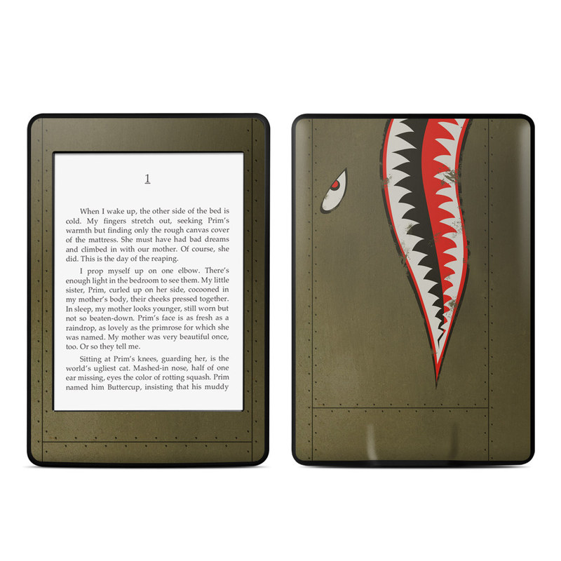 USAF Shark Amazon Kindle Paperwhite Skin