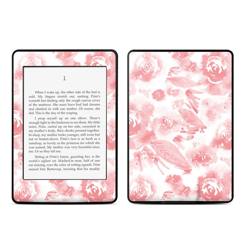 Washed Out Rose Amazon Kindle Paperwhite Skin
