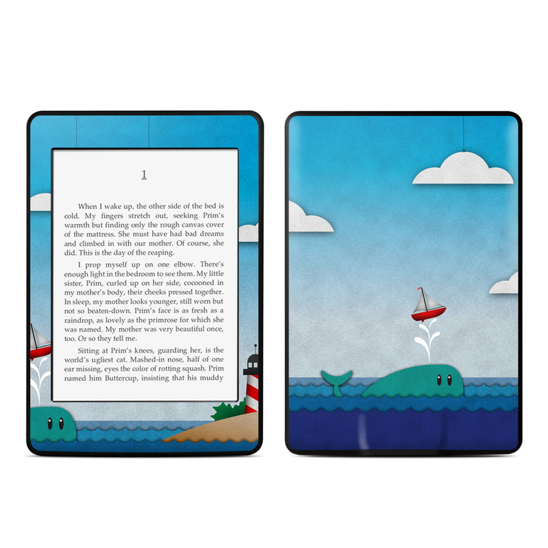 Whale Sail Amazon Kindle Paperwhite Skin