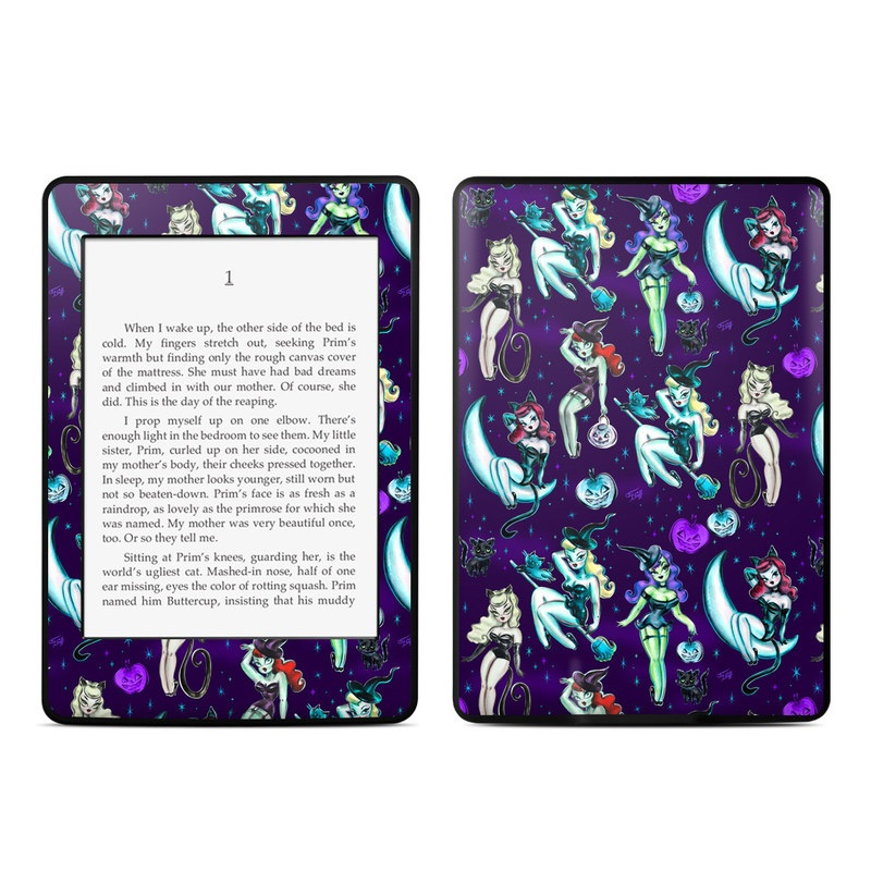 Witches and Black Cats Amazon Kindle Paperwhite 3rd Gen Skin