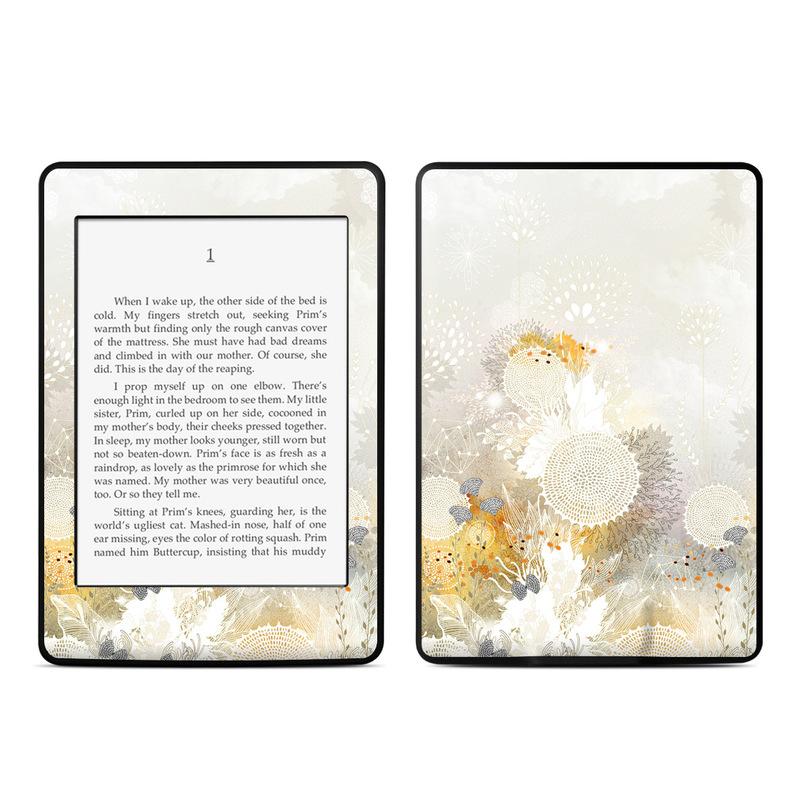 White Velvet Amazon Kindle Paperwhite 3rd Gen Skin