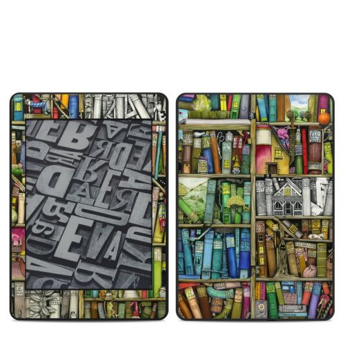 Bookshelf Amazon Kindle Paperwhite 4th Gen Skin