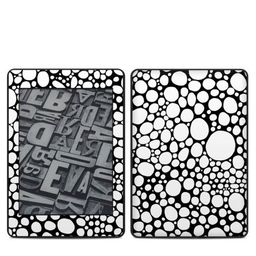 BW Bubbles Amazon Kindle Paperwhite 4th Gen Skin
