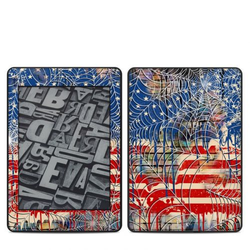 Cobweb Flag Amazon Kindle Paperwhite 4th Gen Skin
