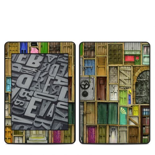 Doors Closed Amazon Kindle Paperwhite 4th Gen Skin