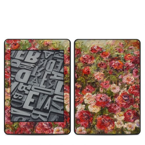 Fleurs Sauvages Amazon Kindle Paperwhite 4th Gen Skin