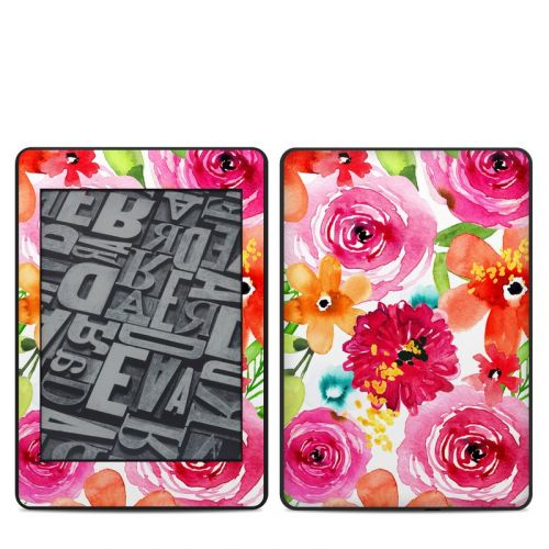 Floral Pop Amazon Kindle Paperwhite 4th Gen Skin