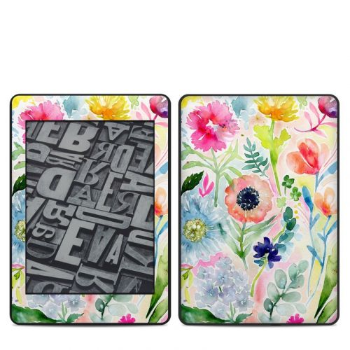 Loose Flowers Amazon Kindle Paperwhite 4th Gen Skin