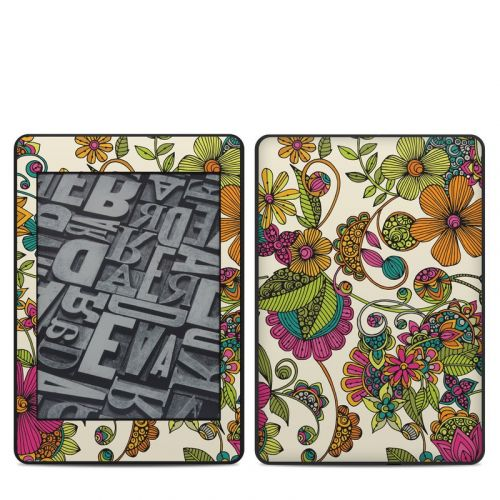 Maia Flowers Amazon Kindle Paperwhite 4th Gen Skin