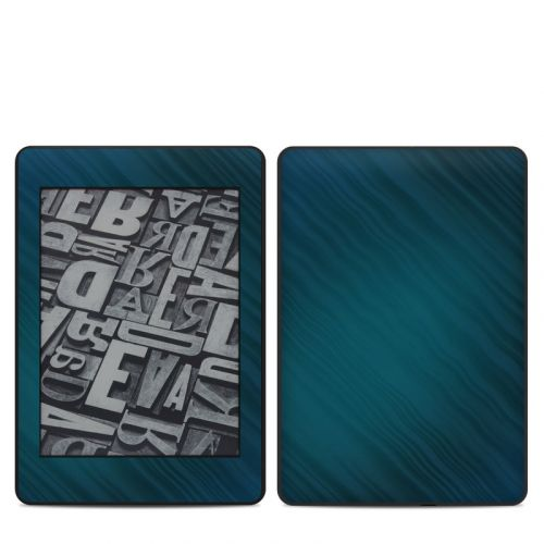 Rhythmic Blue Amazon Kindle Paperwhite 4th Gen Skin