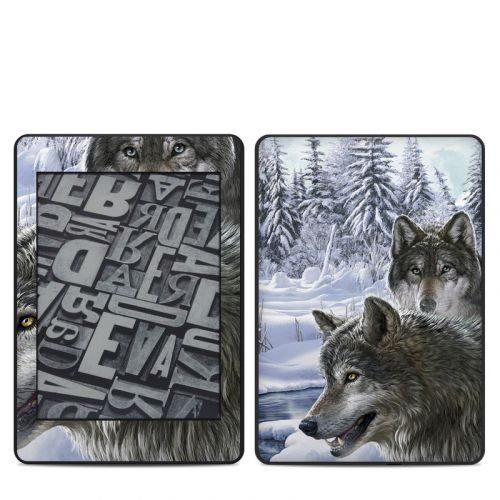 Snow Wolves Amazon Kindle Paperwhite 4th Gen Skin