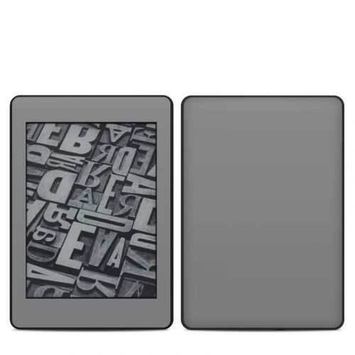 Solid State Grey Amazon Kindle Paperwhite 4th Gen Skin