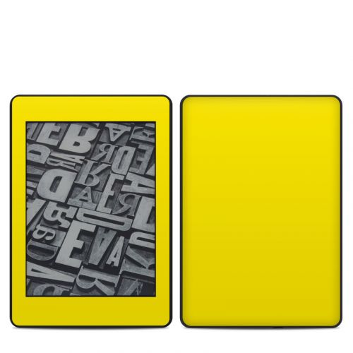 Solid State Yellow Amazon Kindle Paperwhite 4th Gen Skin