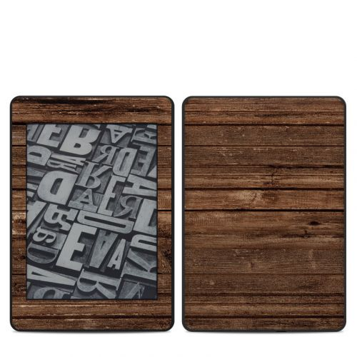 Stripped Wood Amazon Kindle Paperwhite 4th Gen Skin