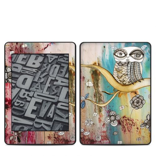 Surreal Owl Amazon Kindle Paperwhite 4th Gen Skin