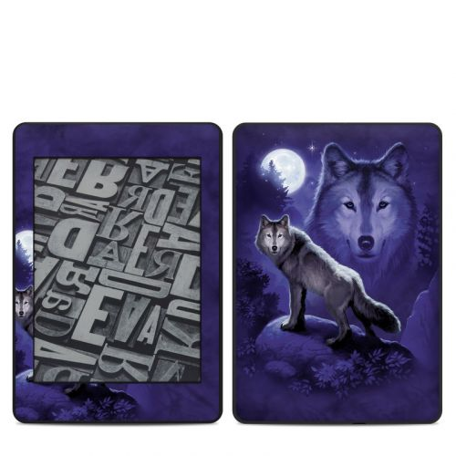 Wolf Amazon Kindle Paperwhite 4th Gen Skin