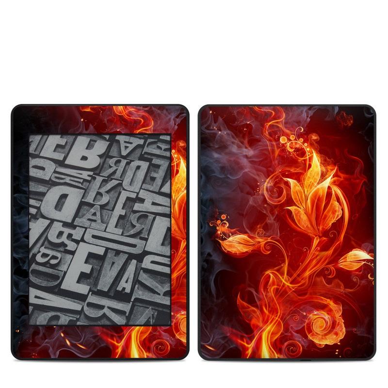 Flower Of Fire Amazon Kindle Paperwhite 4th Gen Skin