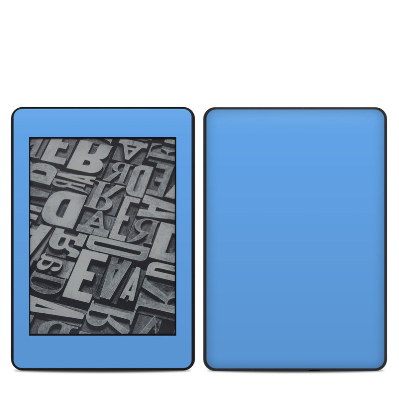Solid State Blue Amazon Kindle Paperwhite 4th Gen Skin