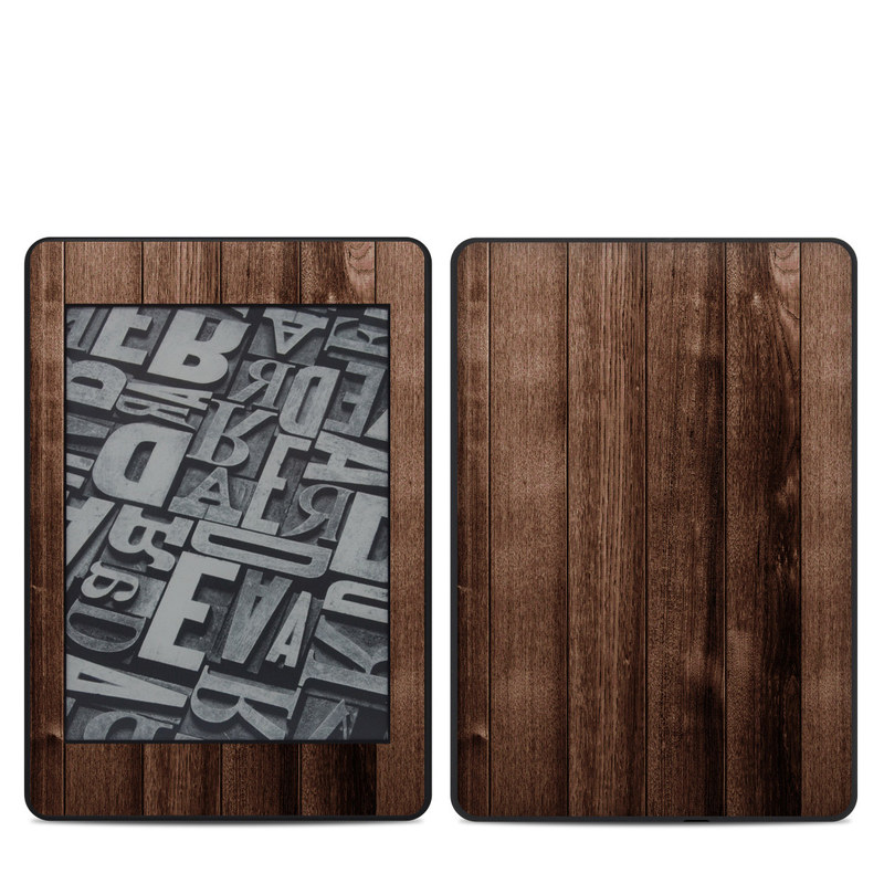 Stained Wood Amazon Kindle Paperwhite 4th Gen Skin