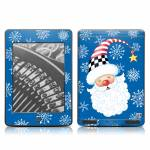 Santa Snowflake Amazon Kindle Touch Skin