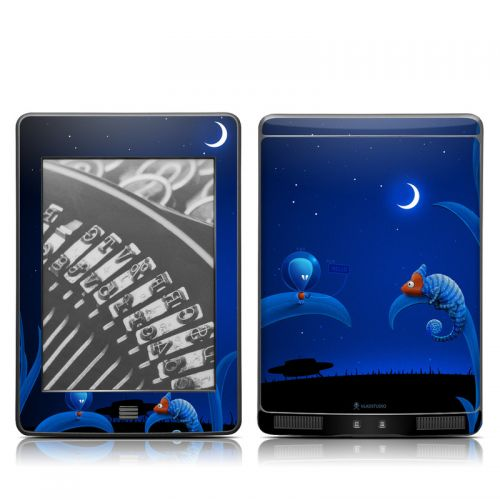 Alien and Chameleon Amazon Kindle Touch Skin
