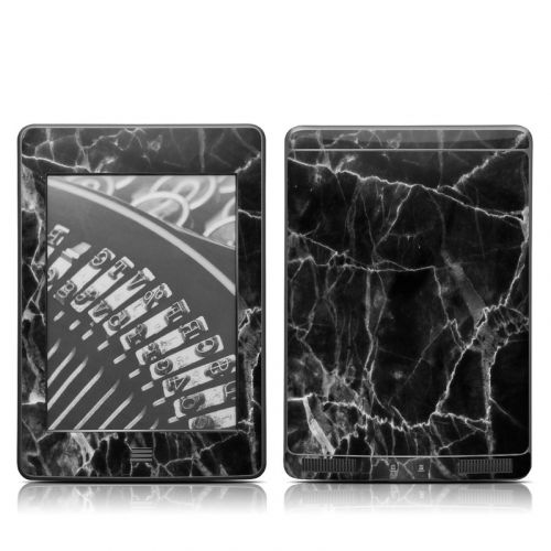Black Marble Amazon Kindle Touch Skin