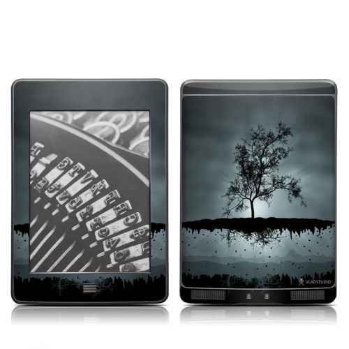 Flying Tree Black Amazon Kindle Touch Skin