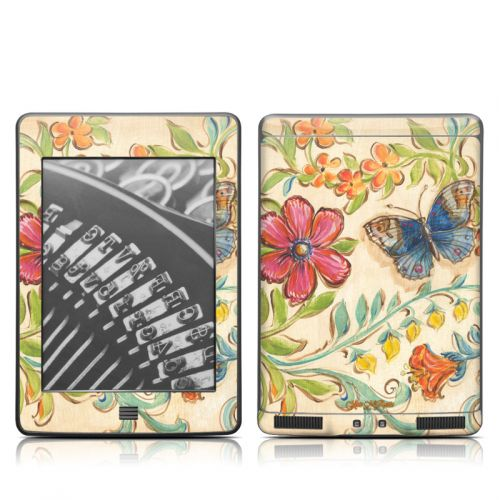 Garden Scroll Amazon Kindle Touch Skin