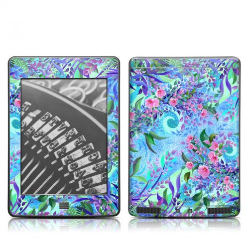 Lavender Flowers Amazon Kindle Touch Skin