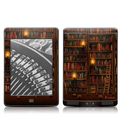 Library Amazon Kindle Touch Skin