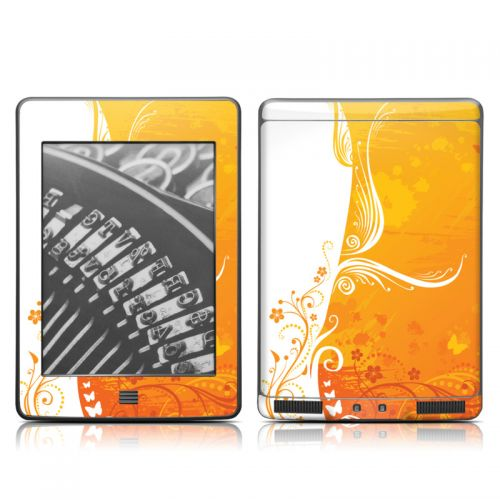 Orange Crush Amazon Kindle Touch Skin