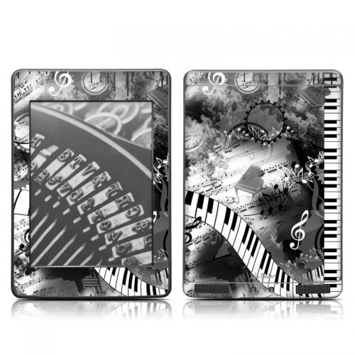 Piano Pizazz Amazon Kindle Touch Skin