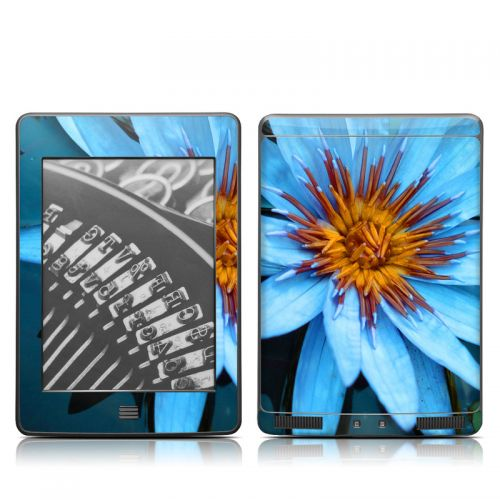 Sweet Blue Amazon Kindle Touch Skin