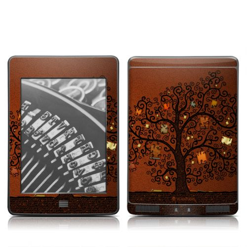 Tree Of Books Amazon Kindle Touch Skin