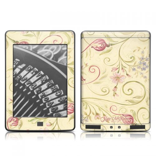 Tulip Scroll Amazon Kindle Touch Skin