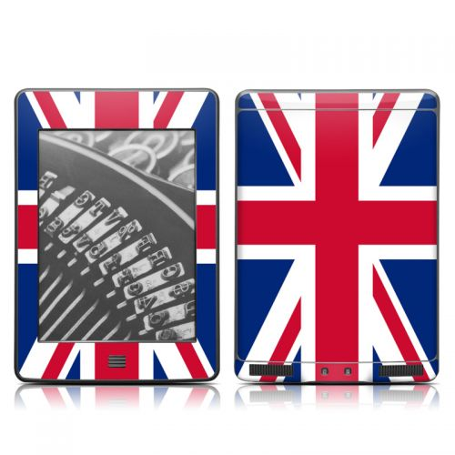 Union Jack Amazon Kindle Touch Skin