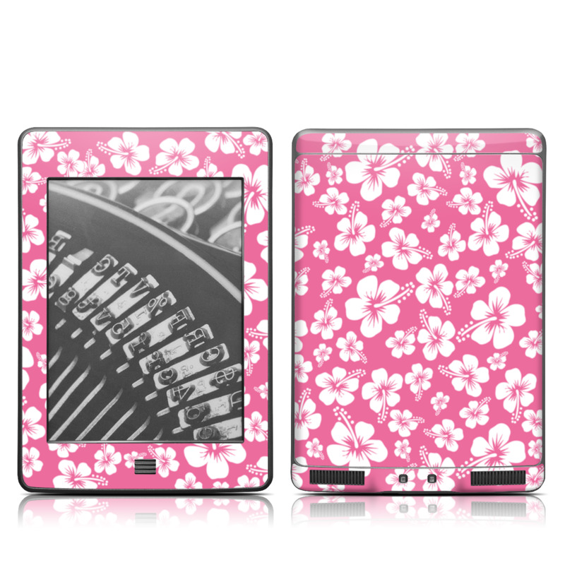 Aloha Pink Amazon Kindle Touch Skin