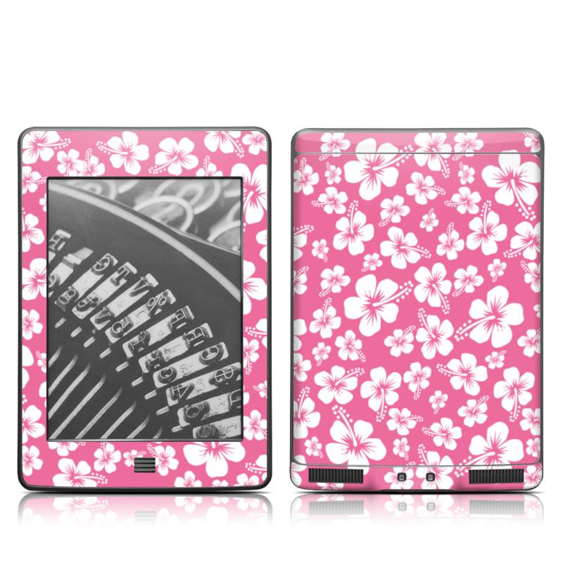 Aloha Pink Amazon Kindle Touch Skin