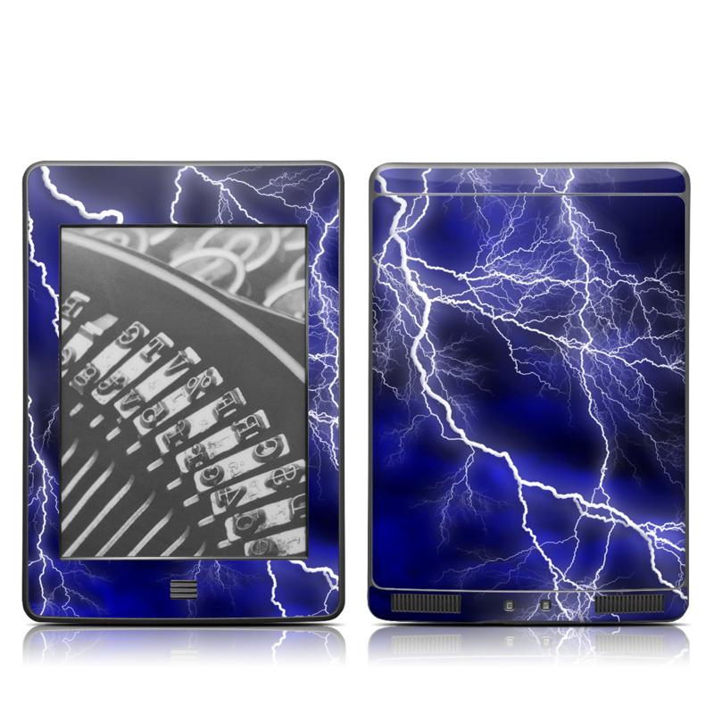 Apocalypse Blue Amazon Kindle Touch Skin