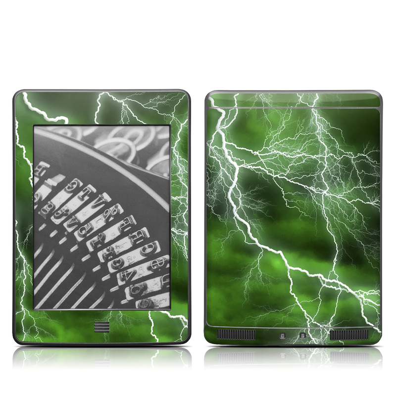 Apocalypse Green Amazon Kindle Touch Skin